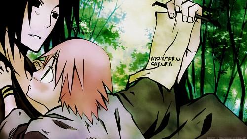 Naruto, Sakura Haruno, Sasuke Uchiha Wallpaper