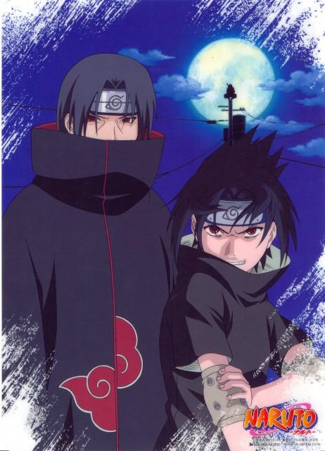 Studio Pierrot, Naruto, Itachi Uchiha, Sasuke Uchiha