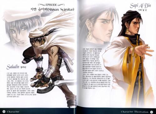 Hyung-Tae Kim, War of Genesis III, Sapi Al Din, Saladin, Character Sheet