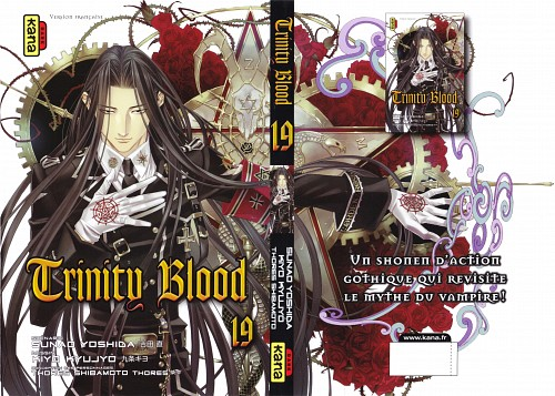 Shibamoto Thores, Gonzo, Trinity Blood, Isaak Fernand von Kämpfer, Manga Cover