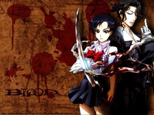 Atsuko Nakajima, Production I.G, Blood+, Saya Otonashi, Hagi Wallpaper