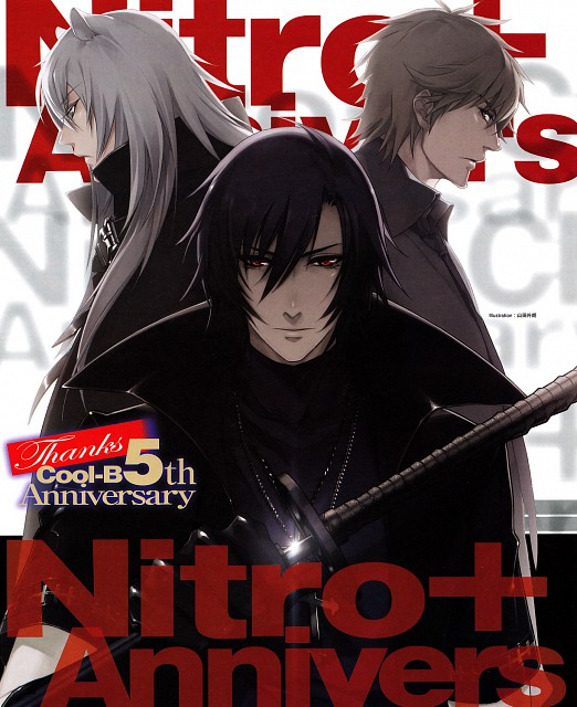 Nitro+, A-1 Pictures, Sweet Pool, Lamento, Togainu no Chi