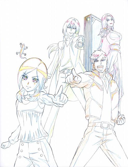 Toei Animation, Fresh Precure!, Hisashi Kagawa Toei Animation Precure Works, Souler, Klein (Fresh Precure)