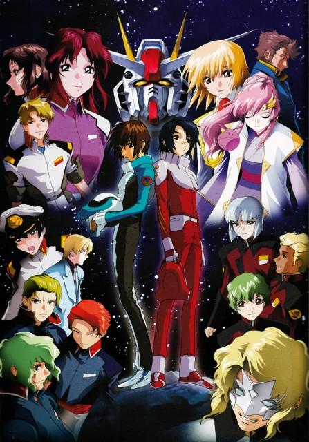 Hisashi Hirai, Sunrise (Studio), Mobile Suit Gundam SEED, Hisashi Hirai Illustration Works, Cagalli Yula Athha