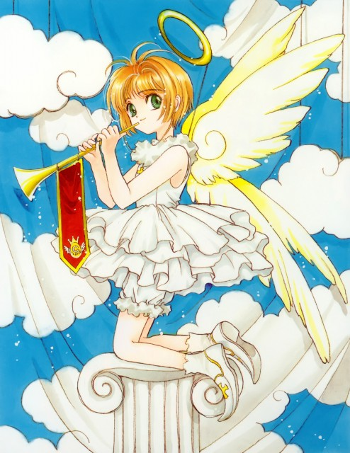 CLAMP, Cardcaptor Sakura, Cardcaptor Sakura Illustrations Collection 1, Sakura Kinomoto