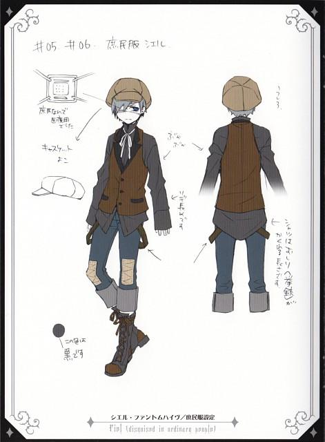 Yana Toboso, Kuroshitsuji, Ciel Phantomhive, Character Sheet