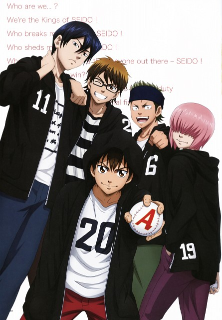Yuuji Terajima, Production I.G, Ace of Diamond, Eijun Sawamura, Haruichi Kominato