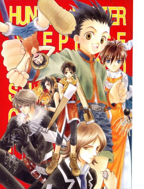Adumi Tohru, Konami, One Piece, Hoshin Engi, Shaman King