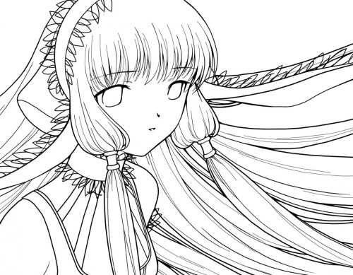 CLAMP, Madhouse, Chobits, Freya, Vector Art