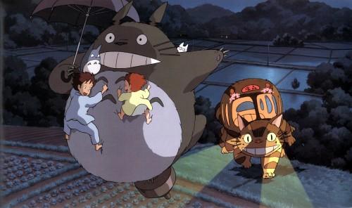 Hayao Miyazaki, Studio Ghibli, My Neighbor Totoro, Totoro, Catbus