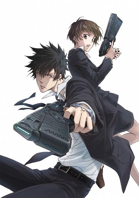 Akira Amano, Production I.G, PSYCHO-PASS, Shinya Kougami, Akane Tsunemori