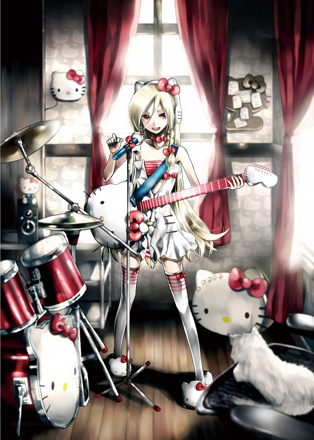 KEI, Sanrio, Hello Kitty to Issho!, Vocaloid, Kitty White