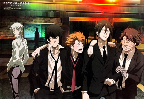 Production I.G, PSYCHO-PASS, Masaoka Tomomi, Kagari Shuusei, Shinya Kougami