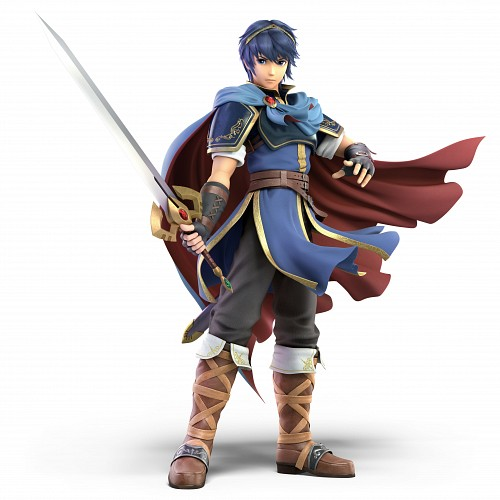 Nintendo, Fire Emblem, Super Smash Bros. Ultimate, Marth