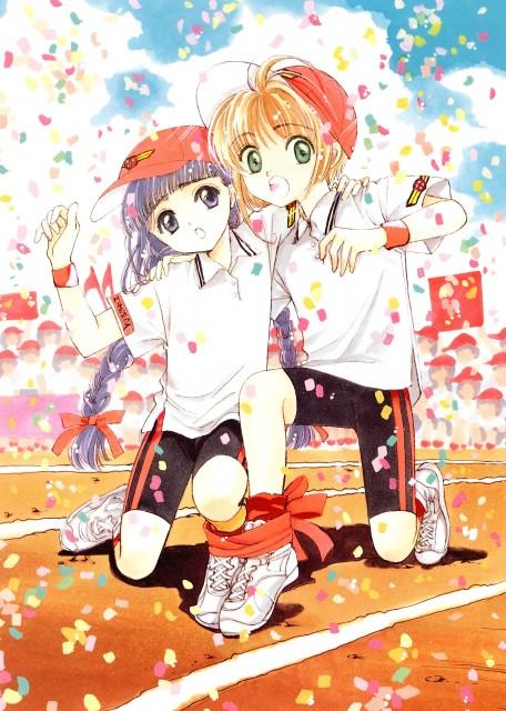 CLAMP, Cardcaptor Sakura, Cardcaptor Sakura Illustrations Collection 1, Sakura Kinomoto, Tomoyo Daidouji