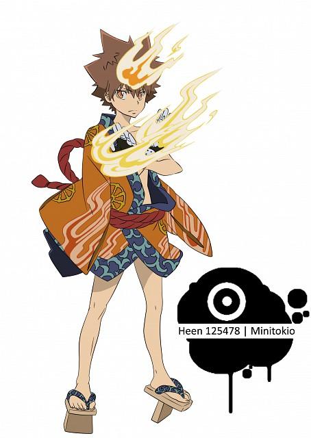 Akira Amano, Artland, Katekyo Hitman Reborn!, Tsunayoshi Sawada, Vector Art