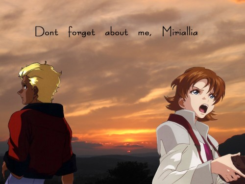 Sunrise (Studio), Mobile Suit Gundam SEED Destiny, Miriallia Haw, Dearka Elthman Wallpaper