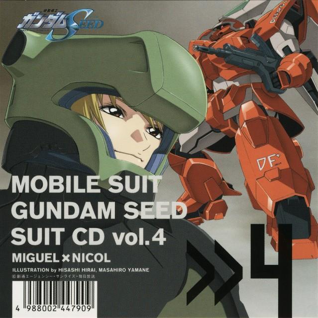 Hisashi Hirai, Sunrise (Studio), Mobile Suit Gundam SEED, Miguel Aiman, Album Cover