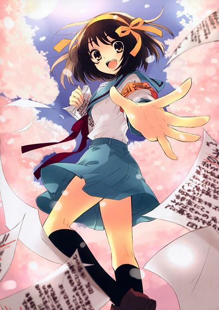 Noizi Ito, Kyoto Animation, The Melancholy of Suzumiya Haruhi, Tribute to the SOS-Dan, Haruhi Suzumiya