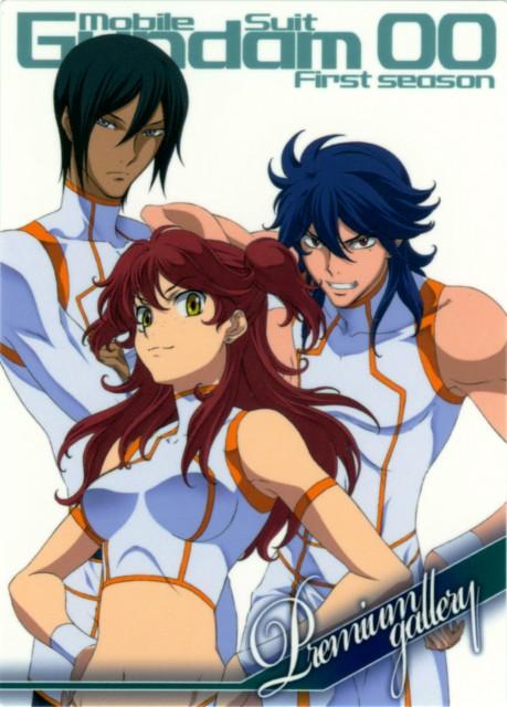 Mobile Suit Gundam 00, Michael Trinity, Johann Trinity, Nena Trinity
