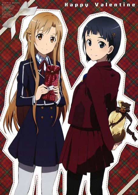 Abec, A-1 Pictures, Sword Art Online, Asuna Yuuki, Suguha Kirigaya