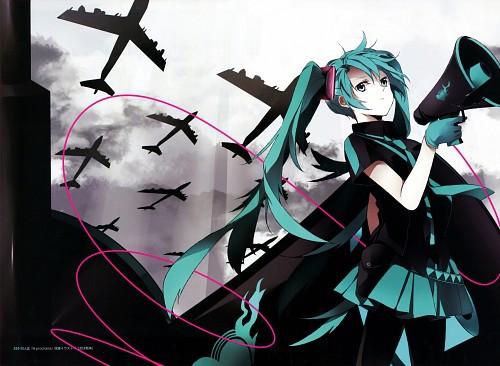 Hatsuko, CUBE - Hatsuko Artworks, Vocaloid, Miku Hatsune