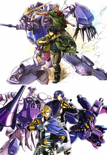 Kazuma Isobe, Sunrise (Studio), Mobile Suit Gundam: Iron-Blooded Orphans, Gundam Ace Iron-blooded Orphans Illustration Collection, Mikazuki Augus