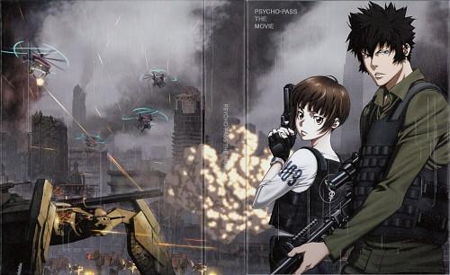 Production I.G, PSYCHO-PASS, Shinya Kougami, Akane Tsunemori