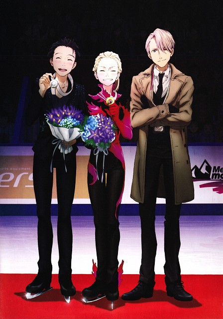 MAPPA, Yuri!!! On Ice, Yuri!!! On Ice Official Guidebook, Yuri Katsuki, Victor Nikiforov