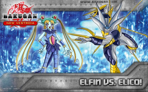 TMS Entertainment, Bakugan, Elico, Official Wallpaper