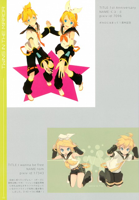 Tom (Mangaka), Take No Ko, Twins in the Mirror, Vocaloid, Rin Kagamine