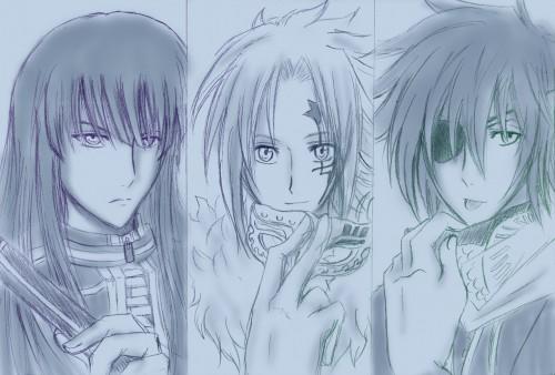 Katsura Hoshino, TMS Entertainment, D Gray-Man, Lavi, Allen Walker