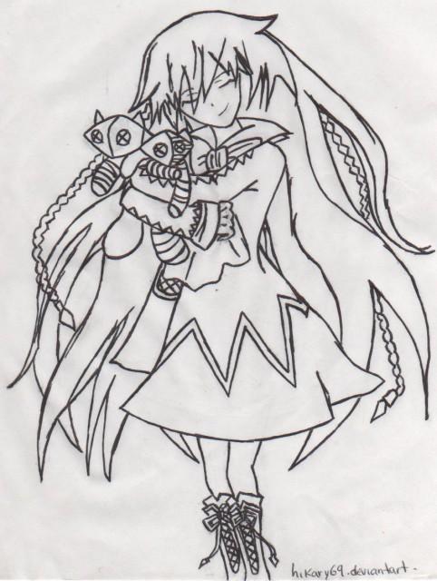 Jun Mochizuki, Xebec, Pandora Hearts, Alice (Pandora Hearts), Member Art