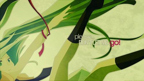 Vocaloid, Miku Hatsune, Vector Art Wallpaper