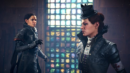 Ubisoft, Assassin's Creed Syndicate, Lucy Thorne, Evie Frye, Game CG