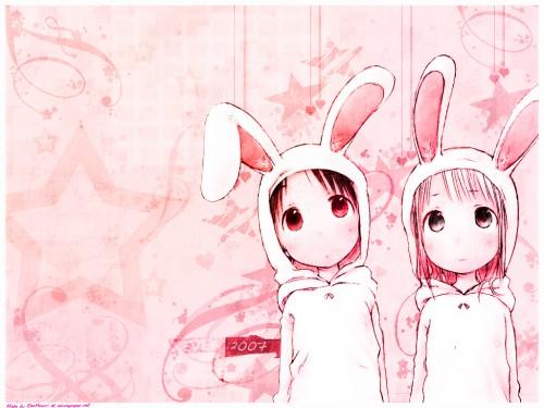 Barasui, Ichigo Mashimaro, Chika Itoh, Miu Matsuoka Wallpaper