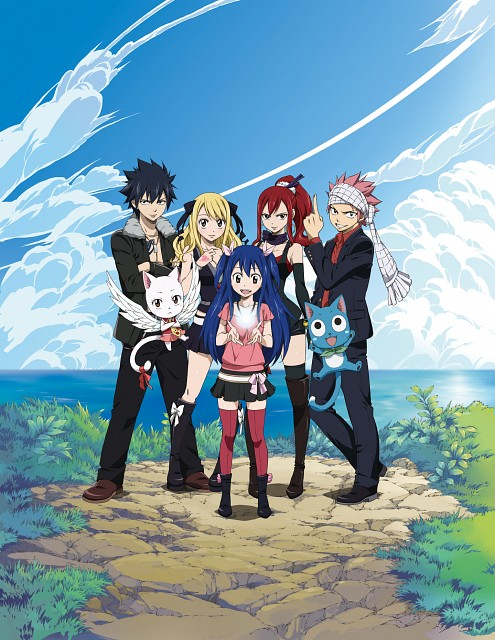 Hiro Mashima, Satelight, Fairy Tail, Happy (Fairy Tail), Erza Scarlet