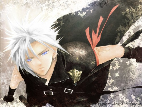 Yubinbasya, Final Fantasy VII: Advent Children, Cloud Strife Wallpaper
