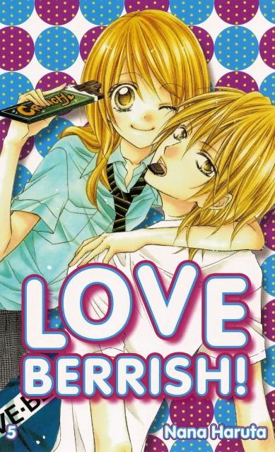 Nana Haruta, Love Berrish!, Nagisa Takawashi, Yuuya Fukushima, Manga Cover