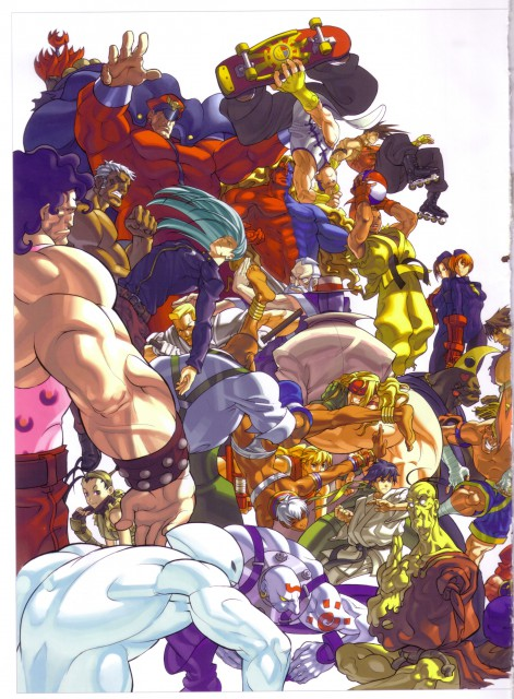 Capcom, Street Fighter, Birdie (Street Fighter), Oro, Necro (Street Fighter)
