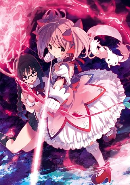 Sou Hamayumiba, Puella Magi Madoka Magica, Puella Magi Madoka Magica The Illustrated Book, Madoka Kaname, Homura Akemi
