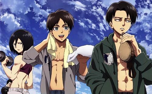 Hajime Isayama, Production I.G, Shingeki no Kyojin, Levi Ackerman, Mikasa Ackerman