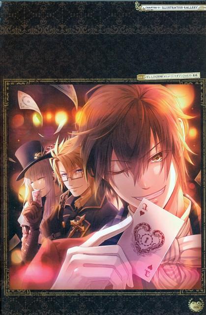 miko (Mangaka), Idea Factory, Code: Realize Official Visual Fan Book, Code: Realize, Saint Germain (Code: Realize)