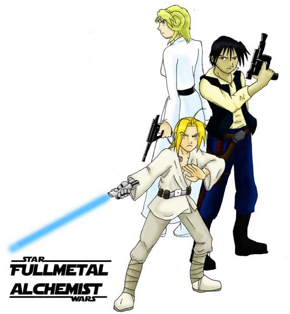 Hiromu Arakawa, BONES, Star Wars, Fullmetal Alchemist, Edward Elric