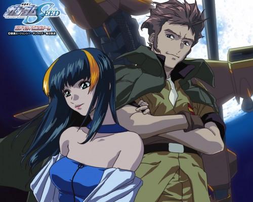 Hisashi Hirai, Sunrise (Studio), Mobile Suit Gundam SEED, Andrew Waltfeld, Aisha (Gundam SEED)
