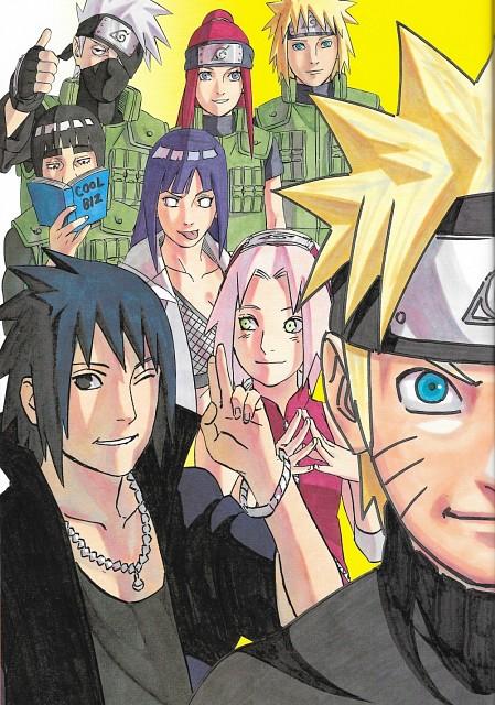 Masashi Kishimoto, Naruto, Naruto Uzumaki, Hinata Hyuuga, Kakashi Hatake