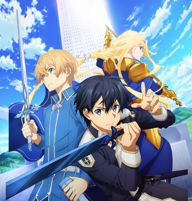 Abec, A-1 Pictures, Sword Art Online, Eugeo, Kazuto Kirigaya