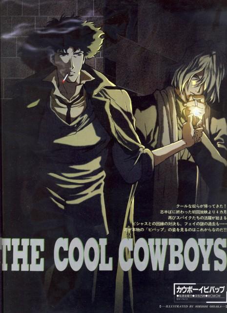Toshihiro Kawamoto, Sunrise (Studio), Cowboy Bebop, Spike Spiegel, Vicious