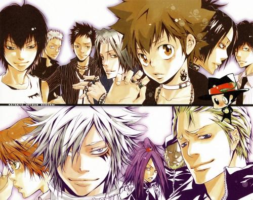 Akira Amano, Katekyo Hitman Reborn!, Colore!, Gamma, Reborn (Character)