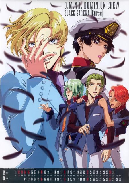 Sunrise (Studio), Mobile Suit Gundam SEED, Shani Andras, Crot Buer, Muruta Azrael